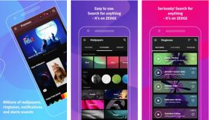 Zedge Ringtone App