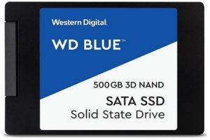 Western digital blue 500 GB SSD